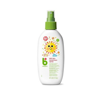 Babyganics Mineral-Based Baby Sunscreen Spray SPF 50 - 6 fl oz