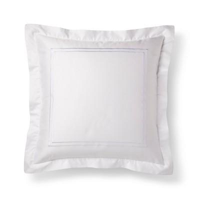 White Tonal Hotel Sham (Euro)- Fieldcrest®