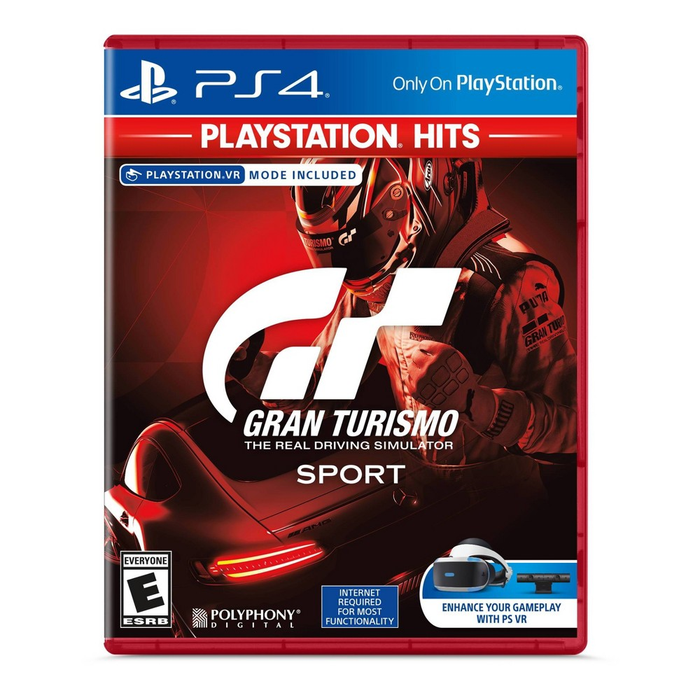 Gran Turismo Sport - VR Mode Included - PlayStation 4 (PlayStation Hits) was $19.99 now $9.99 (50.0% off)