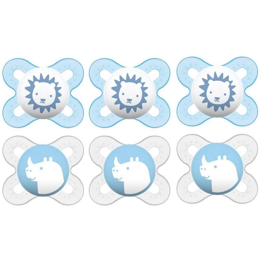 Image of MAM Start Pacifier Bundle - BLue 2pk 3ct