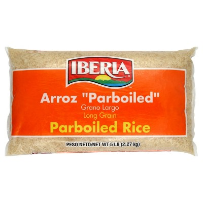Rice: Iberia Long Grain Parboiled Rice
