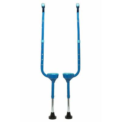 Flybar Maverick Stilts Blue Edge
