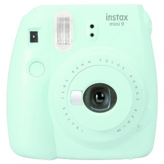Fujifilm Instax Mini 9 Camera - Ice Blue  (16550643)