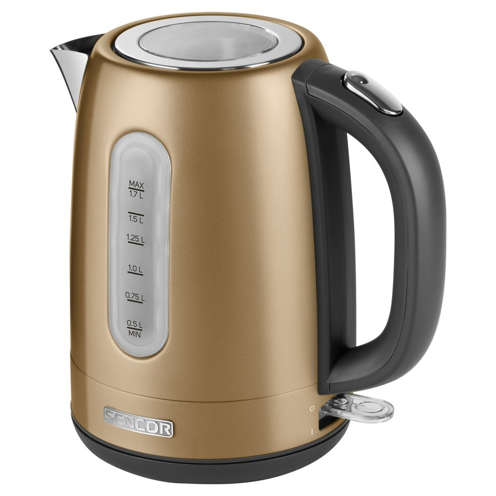 Sencor Metallic 1.7L Stainless Steel Electric Kettle – Champange 54281511