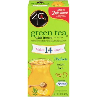 4C Totally Light Green Tea Antioxidant Iced Tea Mix - 1.69oz.