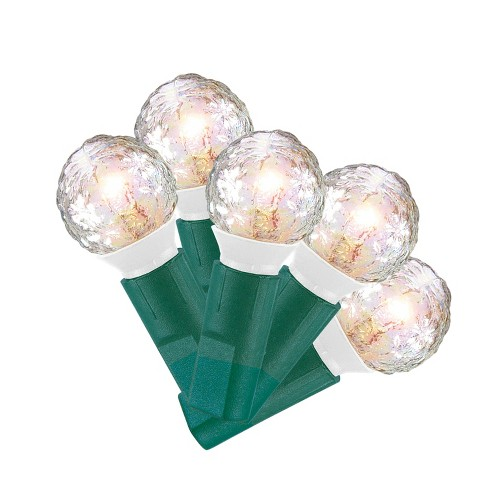 70ct Pearl Christmas Faceted and Iridescent Clear String Lights - Wondershop™ - image 1 of 1