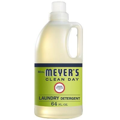 Mrs. Meyer's Clean Day Lemon Verbena Laundry Detergent - 64 fl oz