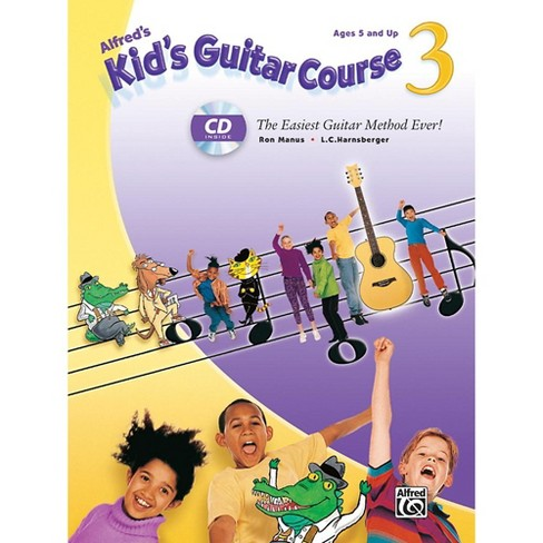Alfred Alfred's Kid's Guitar Course 3 Book & Enhanced CD - image 1 of 1