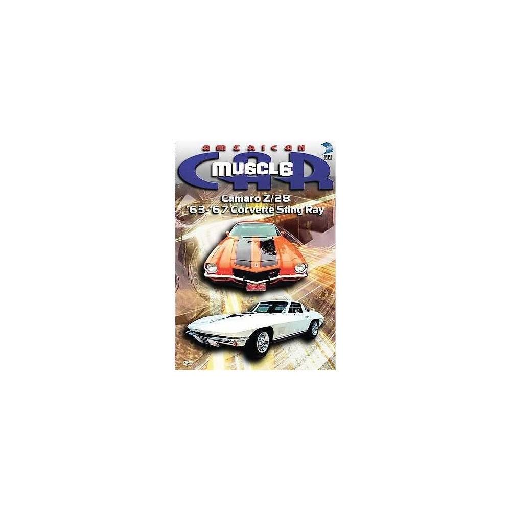 American Muscle Car:Camaro Z28 & 63-6 (Dvd)