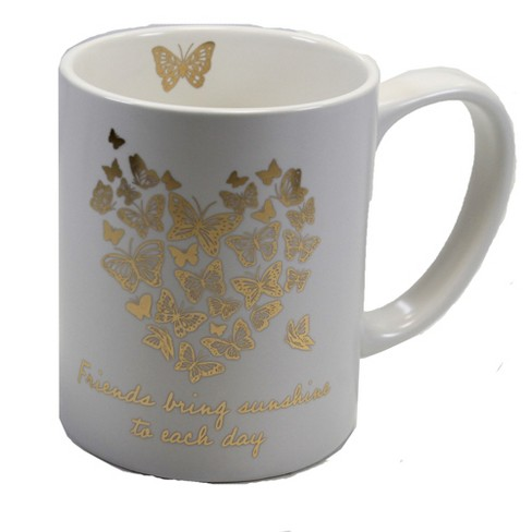 "Tabletop 4.25"" Butterfly Mug Coffee Love Ganz  -  Drinkware - image 1 of 3"