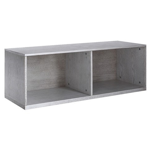 "Cain Stackable Bookcase 14"" Smoke Gray - Hives&Honey® - image 1 of 3"