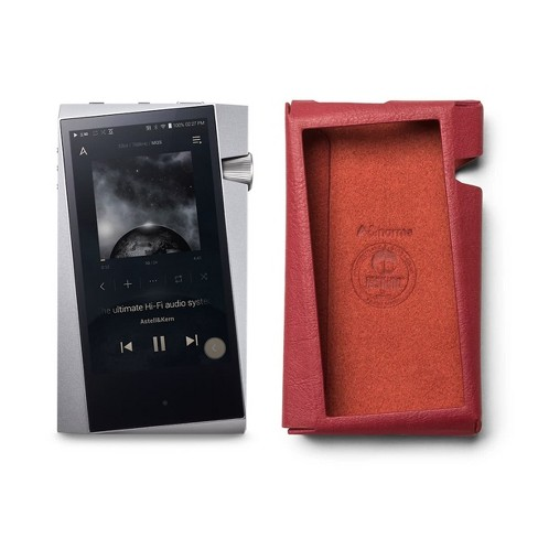 Astell & Kern SR25 Portable Music Player (Moon Silver) with Protective Case - image 1 of 4