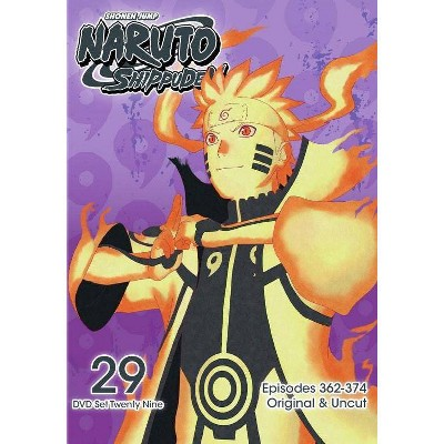 Naruto Shippuden: Box Set 29 (DVD)(2017)
