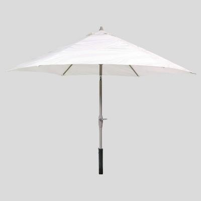 9' Round Patio Umbrella Neutral - Ash Pole - Project 62™
