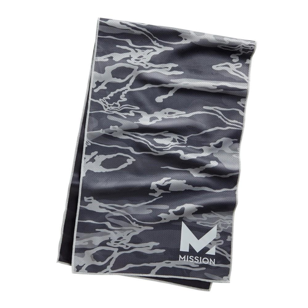 Mission HydroActive Premium Techknit Large Towel - Silver Camo Print