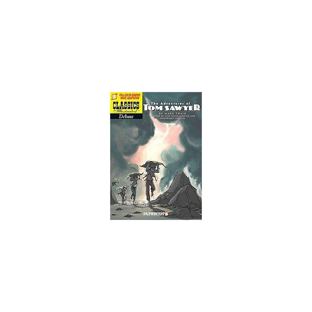 Classics Illustrated Deluxe 4 : The Adventures of Tom Sawyer (Paperback) (Mark Twain)