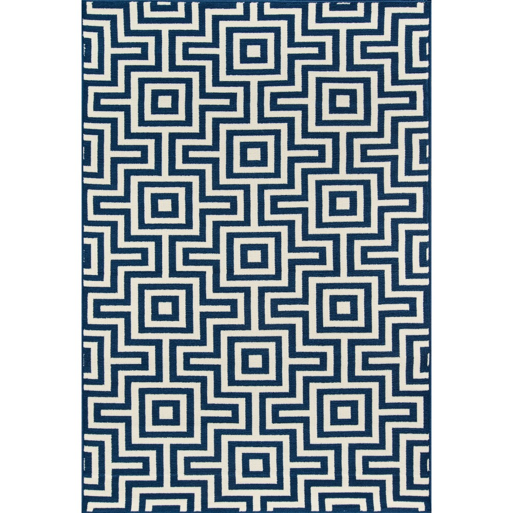 Best 5X8 Solid Area Rug Navy - Momeni