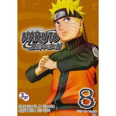 Naruto Shippuden: Box Set 8 (DVD)(2011)