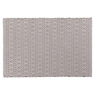 Gray Bazaar Kitchen Floor Mat