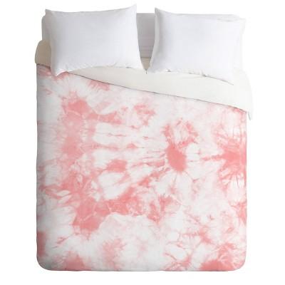 Amy Sia Tie Dye 3 Pink Comforter Set - Deny Designs