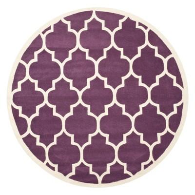 Brandy Quatrefoil Design Tufted Area Rug - Safavieh