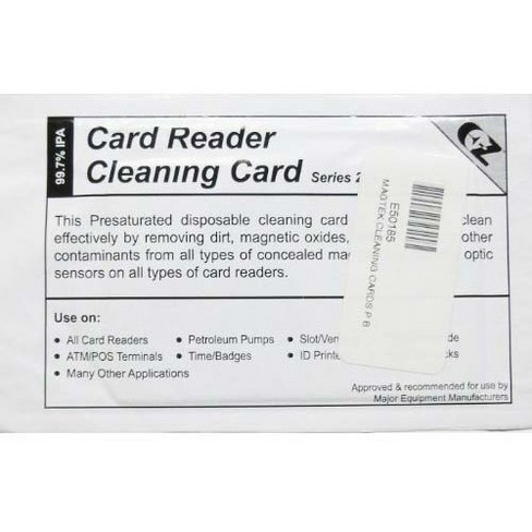 MagTek - MICR cleaning cards - image 1 of 1