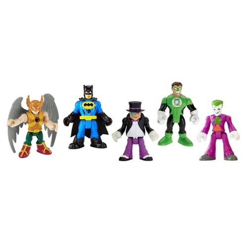 Fisher-Price Imaginext DC Comics Super Friends Heroes & Villains 5pk - image 1 of 2
