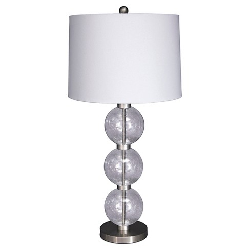 Shodan Table Lamp Clear/Silver Finish - Signature Design by Ashley - image 1 of 2