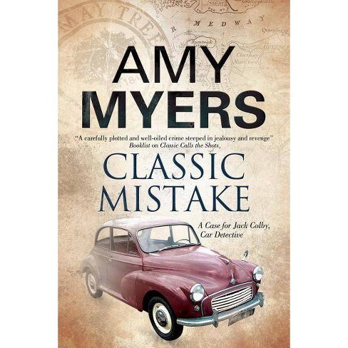 Classic Mistake - (Jack Colby Mystery) by  Amy Myers (Hardcover) - image 1 of 1