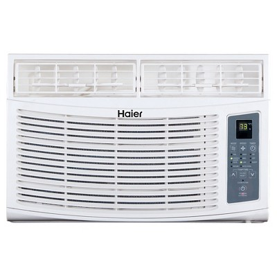 Haier - 8000-BTU Electronic Remote Control Air Conditioner,HWR08XCR