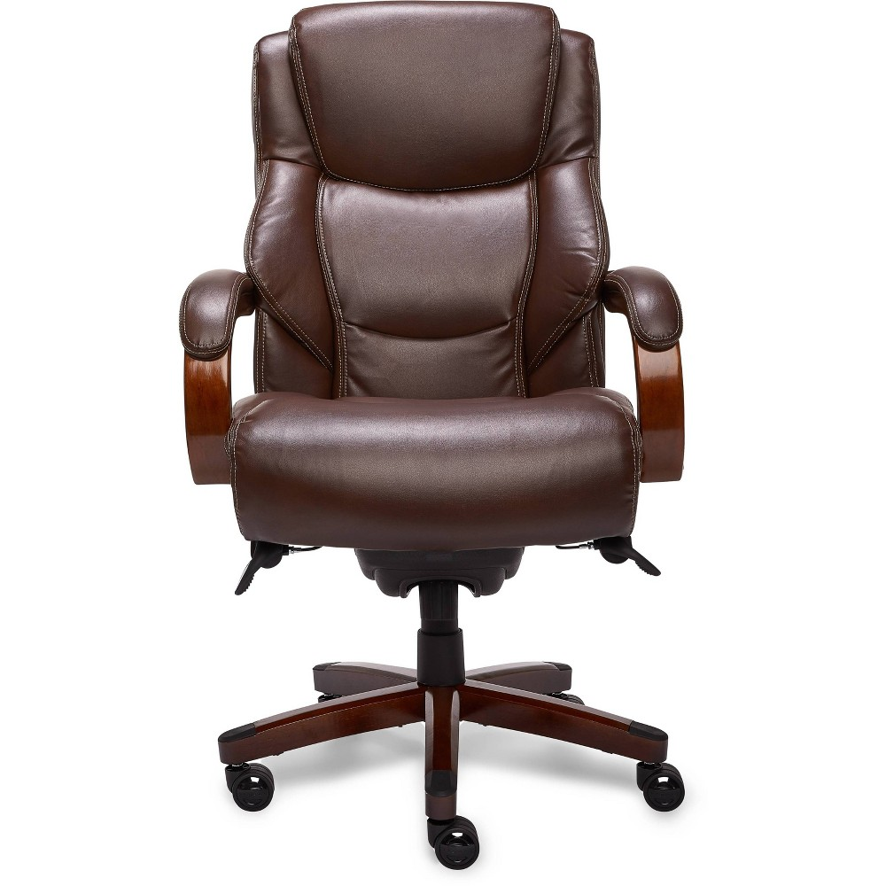 Image of Big & Tall Executive Chair Chestnut - La-Z-Boy, Brown