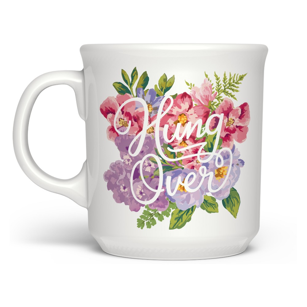 """Image of """"16oz Say Anything """"""""HungOver"""""""" Drinkware - Fred & Friends, White"""""""