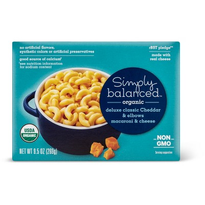 Mac & Cheese: Simply Balanced Organic Deluxe