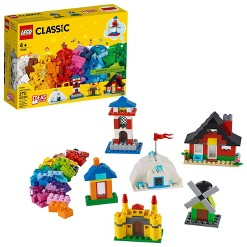 LEGO Classic Bricks and Houses Kids' Building Toy Starter Set 11008
