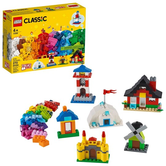 LEGO Classic Bricks and Houses Kids' Building Toy Starter Set 11008 image number null
