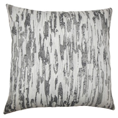 """Gray Square Throw Pillow (20""""x20"""") - The Pillow Collection"""
