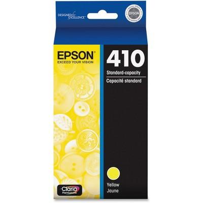Epson Claria T410 Original Ink Cartridge - Inkjet - Standard Yield - Yellow - 1 Each