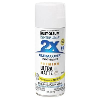Rust-Oleum Ultra Cover 2X Matte Spray White