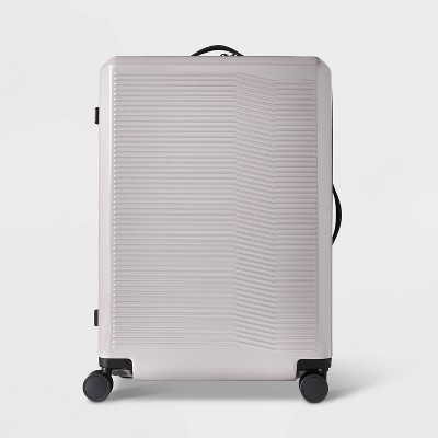 "Hardside 29"" Checked Suitcase Violet Ice - Open Story™"