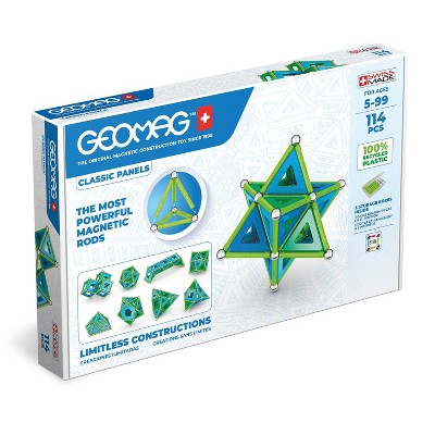 Geomag Magnetic Sticks and Balls Building Set Classic 114pc