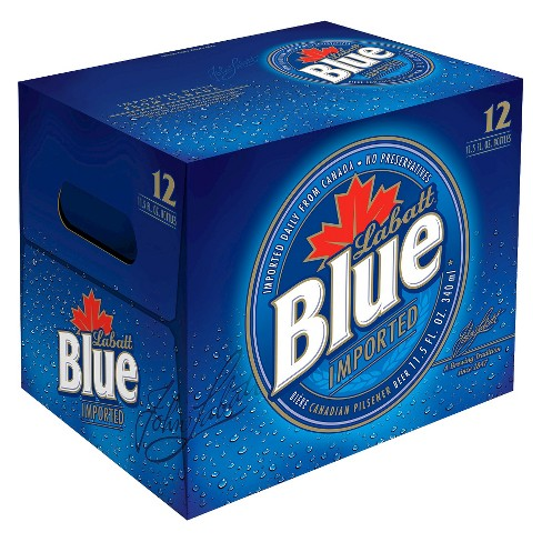 Labatt® Blue Light Beer - 12pk / 12oz Bottles - image 1 of 1