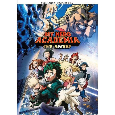 My Hero Academia Two Heroes Dvd 2019 Target