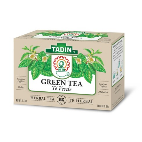 Tadin Te Verde Herbal Green Tea 24ct Target