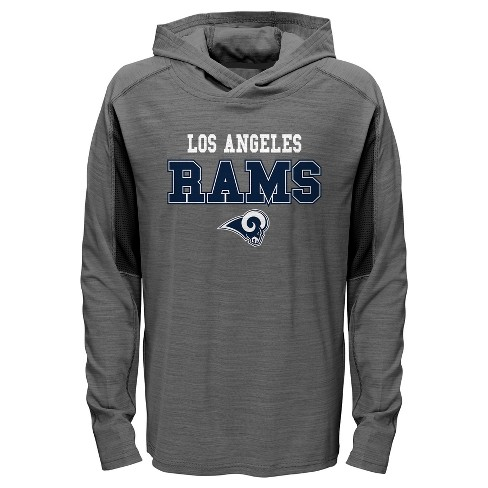 Los Angeles Rams Boys  Sideline Speed Gray Lightweight Hoodie S   Target a4e52629c