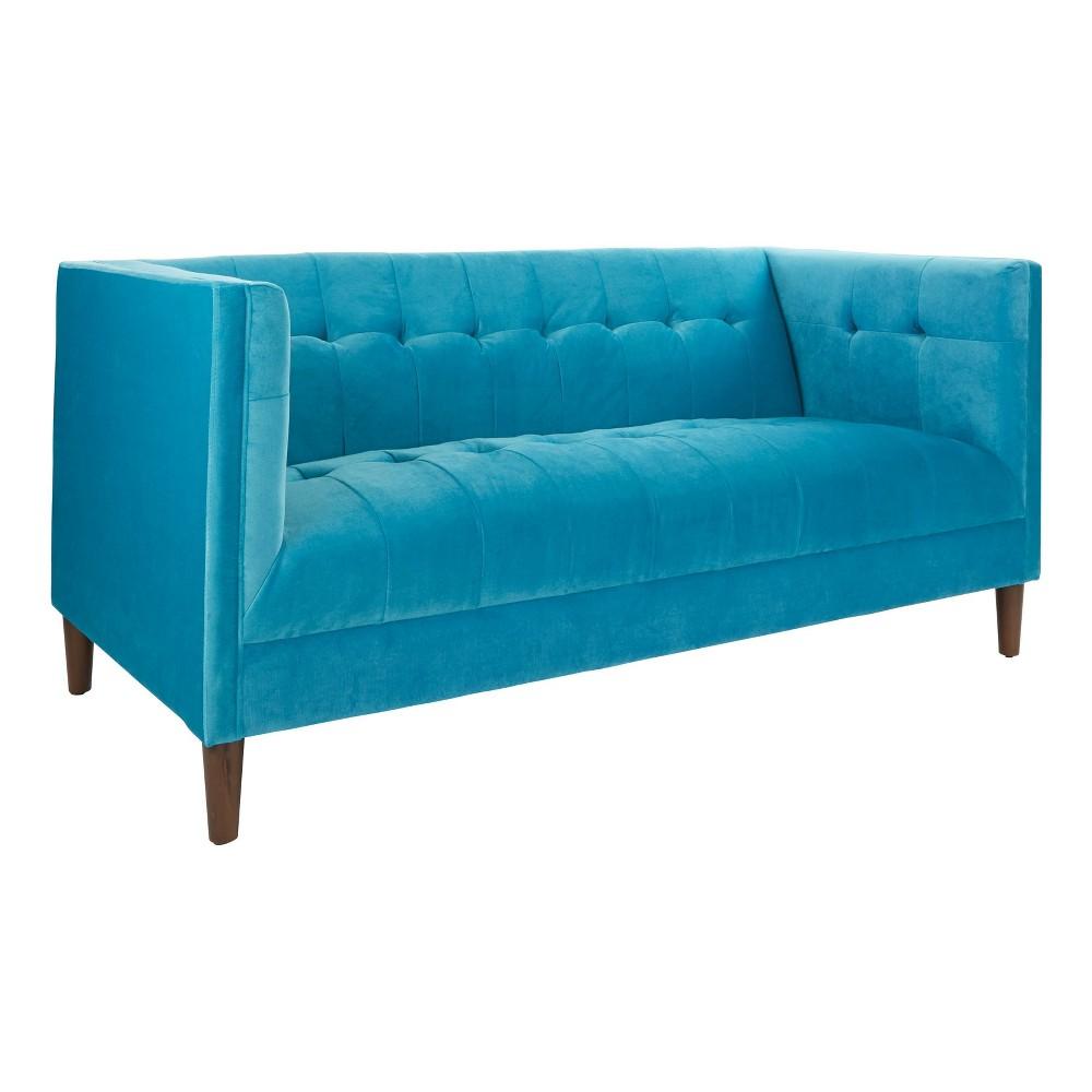 Tremendous Skylark Apartment Sofa Blue Osp Home Furnishings Cjindustries Chair Design For Home Cjindustriesco