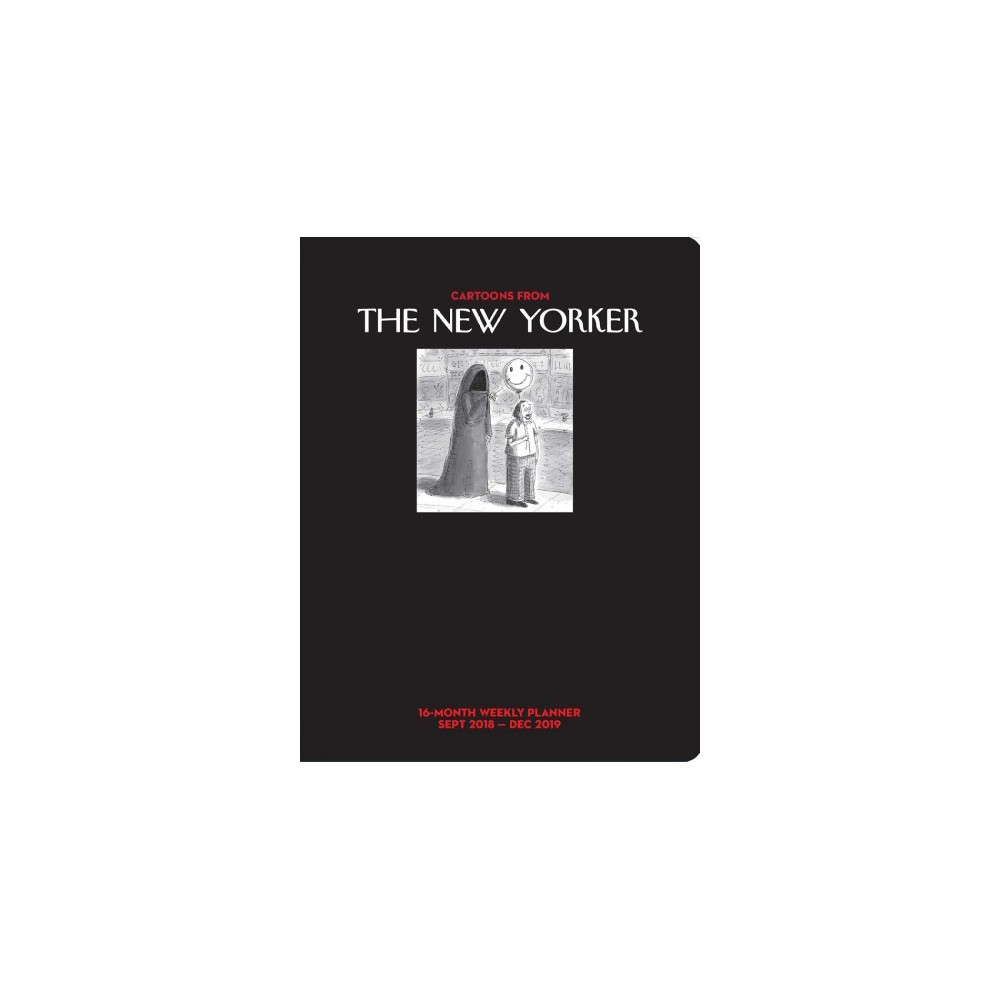 Cartoons from the New Yorker 2018-2019 Weekly Planner - (Paperback)