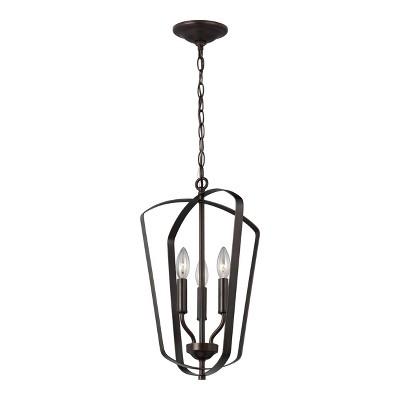 Generation Lighting Romee 3 light Heirloom Bronze Pendant 5134903-782