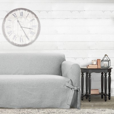 Farmhouse Basketweave Sofa Slipcover   Sure Fit : Target