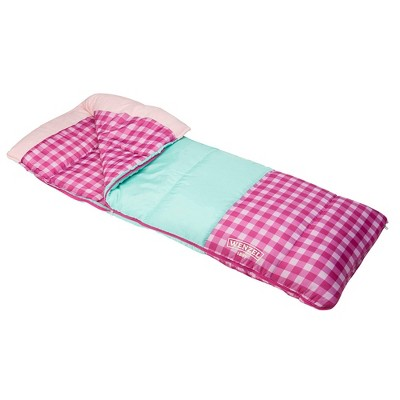 Wenzel Sapling 40-50 Degree Youth Sleeping Bag - Pink
