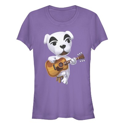 Junior's Nintendo Animal Crossing K.K. Slider T-Shirt